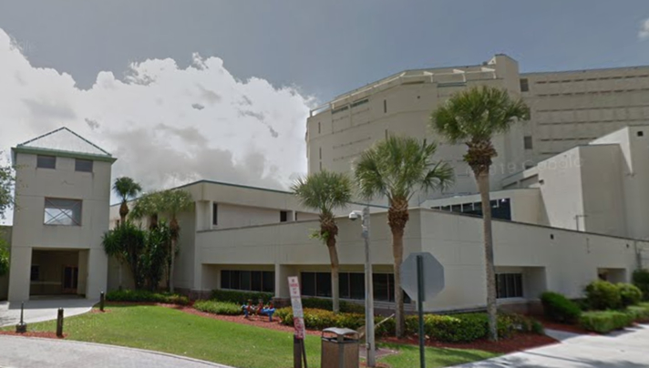 Palm Beach County Jail in Belle Glade