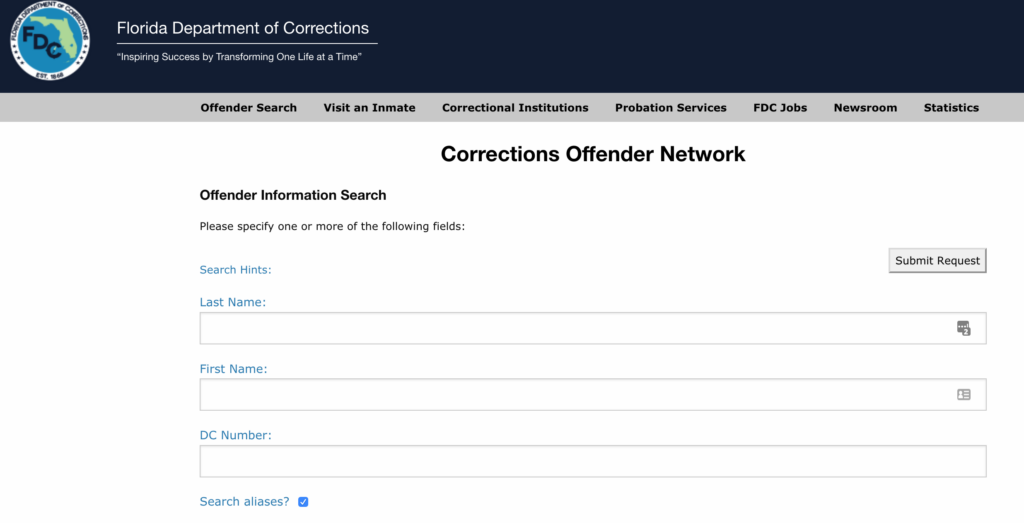 How Do I Look Up an Arrest Record or Inmate Information in Florida?